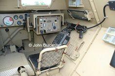 Interior of sdkfz 251.