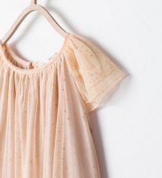ZARA - KIDS - TULLE DRESS WITH STARS