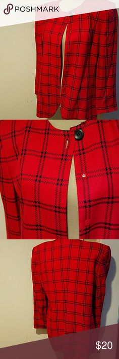 Amanda Smith jacket Besutiful jacket imported rayon fsbric. Pocket in front looks like silk tweed & is soft to touch. Completely lined. Like new Amanda Smith Jackets & Coats Blazers