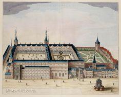 Palatium Episcopale Leodii,  Amsterdam,1649, Atlassen uit het Scheepvaartmuseum Amsterdam (Het Geheugen van Nederland).