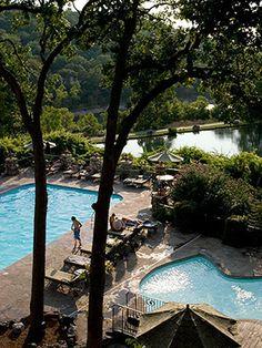 17 Fabulous One-Stop Weekend Escapes — Pictured: Ridgedale, Missouri: Big Cedar Lodge    http://www.midwestliving.com/travel/interest/resort-getaways/fabulous-weekend-escapes/