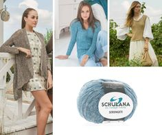 """SCHULANA """"Serengeti"""" Trends, Couture, Knitting, Tricot, Cast On Knitting, Stricken, Haute Couture, Crocheting, Knits"""