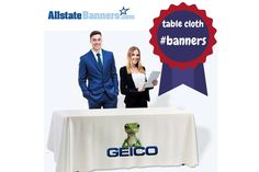 Trade Show Table Covers, Throws, Skirts, Runners