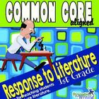 Do you dread teaching writing?  This is the program for you!  Comprehensive, Simple, Effective Teacher's Manual for teaching Response to Literature...