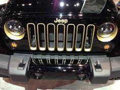 Jeep Wrangler Dragon Concept Car from Chicago Auto Show 2013