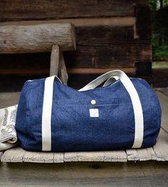 The Dakota Denim Duffel Bag