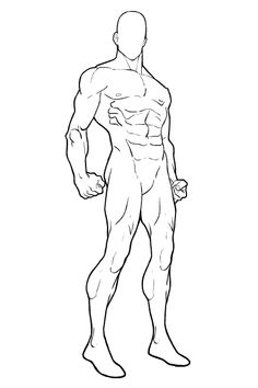 "Which do you like better, the first proposed new HM-mini body template, or this one: This one has more ""attitude"", I think. Superhero Sketches, Drawing Superheroes, Superhero Characters, Body Reference Drawing, Body Drawing, Art Reference Poses, Superhero Template, Superhero Design, Sketch Poses"