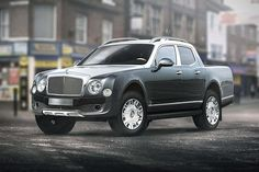 Luxury Car Pickup Truck Concepts - there are some wild concepts on this page. I love this Bentley dream machine!