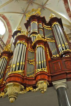 Recently restored organ at Zaltbommel