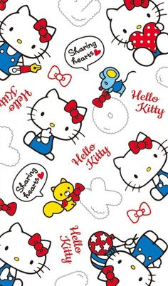 get some yourself some pawtastic adorable cat appa Hello Kitty Art, Hello Kitty Themes, Hello Kitty My Melody, Hello Kitty Pictures, Sanrio Hello Kitty, Hello Kitty Backgrounds, Hello Kitty Wallpaper, Sanrio Wallpaper, Cartoon Wallpaper
