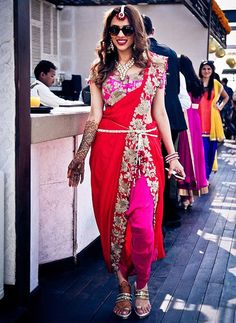 Indo Western Outfits for Wedding Ceremony