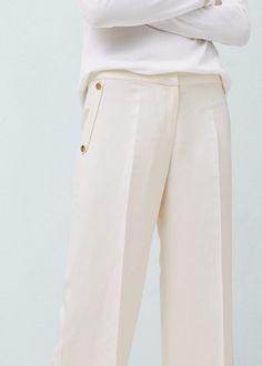 Pantalon palazzo lin