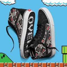 This Nintendo and Vans collaboration will fill you with nostalgia.
