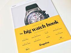 The Big Watch Book by @esquire with Noe Display #fontsinuse #schicktoikka #esquire #bigwatchbook #isokello