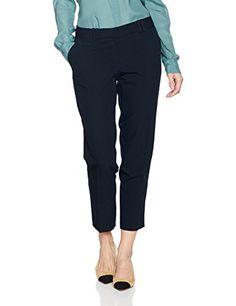 ca7f657639 Dorothy Perkins Women's Double Loop Ankel Grazer Slim Trousers: Amazon.co.uk:  Clothing
