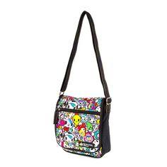 Tokidoki x Claire's Neon Star Crossbody Bag - Want!
