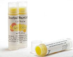 .15 oz Lip Balm Labels on clear tubes.