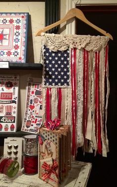 Miss T's Picker Project- Fabric Flag Project designed by Tracy Pounds at The Little Blue House in Keller, Texas #thelittlebluehouse @tra