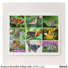 Shop Gorgeous Butterflies Collage, 9 Photos, Age 10 Jigsaw Puzzle created by Personalize it with photos & text or purchase as is! Buckeye Butterfly, Butterfly Kids, Photo Jigsaw Puzzle, Jigsaw Puzzles, Custom Gift Boxes, Customized Gifts, Toddler Boy Gifts, Make Your Own Puzzle, Birthday Gifts For Husband