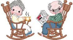 Znalezione obrazy dla zapytania babcia i dziadek
