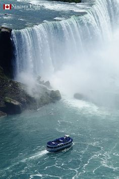 Beautiful Waterfalls Around The World - Niagara Falls- Horseshoe Falls-Canada