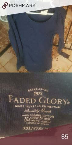 Long sleeve shirt Great condition Faded Glory Tops Tees - Long Sleeve