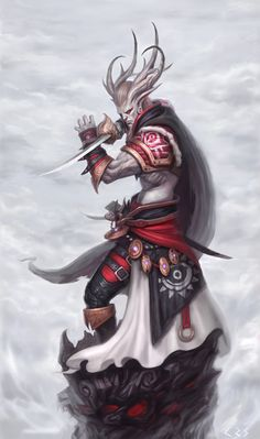 牛魔神 I like to role of Longhorn, a sense of strength, black and red is my favorite color ~.  Share