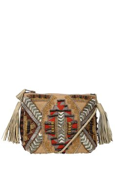Night out bag/Clutch bag - inka1pch - Brown Antik Batik on MonShowroom.com