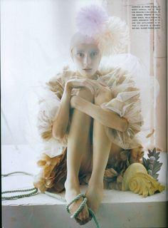 Olga Sherer & Alice Gibb by Tim Walker for Vogue Italia January 2008