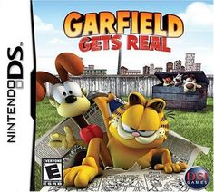 Garfield Gets Real - Nintendo DS by Zoo Games - deal card Nintendo Ds, Garfield, Real Movies, Play Pool, Ds Games, Fun Games For Kids, Game Sales, Get Real, Funny Art