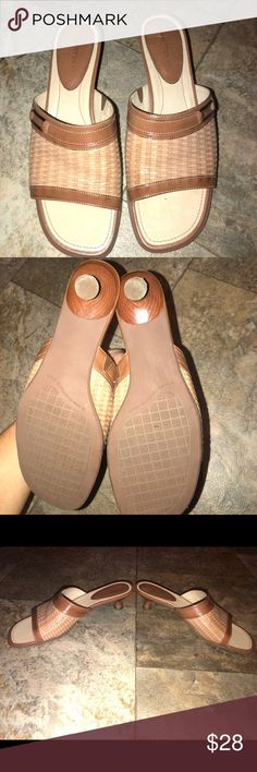 Trotter Shoes Sandals euc size 8 1/2 Like New Trotter Shoes Sandals euc size 8 1/2 Like New Worn Once For a couple hours Trotters Shoes Heels
