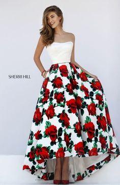 Sherri Hill Rose Prom Dress