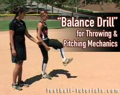 In this article, we are talking about a great throwing and pitching mechanics drill that will help your players find their balance and get their weight back