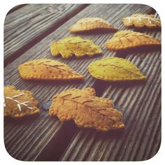 Fall felt and embroidered hair clips by Sarahbellum in Chelan, WA
