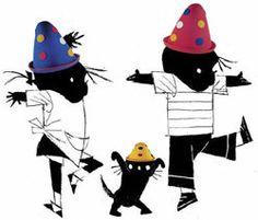 De jarige Janneke is jarig vandaag! En Jip kan niet wachten tot hij naar haar toe kan om haar te feliciteren. Hij is al om zes uur wakker. Veel te vroeg volgens papa en mama. Dan mag hij ein-de-lijk eten, aankleden en door de heg naar Janneke. Die zit op een prachtig versierde stoel. Birthday Wishes, 2nd Birthday, Happy Birthday, Birthday Parties, Illustrations, Schmidt, Moleskine, Copic, Little Babies