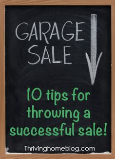 Don't squander your opportunity to make money and get your junk hauled away. Follow these 10 great tips!
