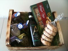 an eco hamper - traditional local products from Malta