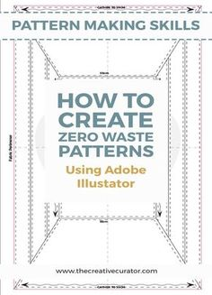 How To Create a Zero Waste Pattern using Adobe Illustrator - The Creative Curator