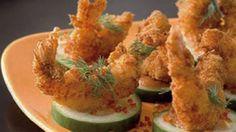 Camarones al coco con salsa de cóctel: http://www.cosmopolitantv.es/noticias/1548/recetas-masterchef-canapes-de-camarones-al-coco-con-salsa-coctel
