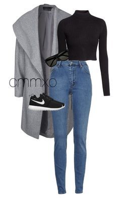 """Untitled #737"" by cmmxo ❤ liked on Polyvore featuring ONLY, H&M, Cheap Monday, NIKE and Yves Saint Laurent"