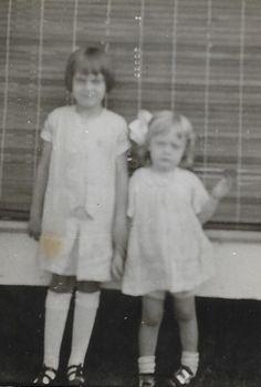 Berneice Bruner Pazics and Gertrude Patricia Bruner Davis