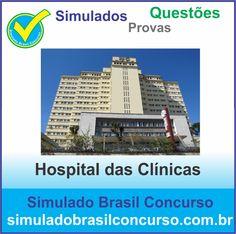 Concurso Hospital das Clínicas 2014.  Novos Simulados e Questões do Hospital das Clínicas 2014.  http://simuladobrasilconcurso.com.br/simulados/concursos/?filtro_concurso=1248  #SimuladoBrasilConcurso, #ProvaHospitalDasClinicas