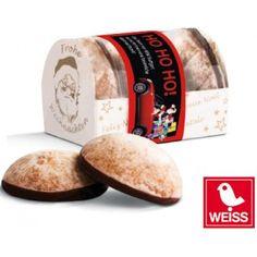4 Mini-Lebkuchen - Werbeartikel für Weihnachten