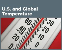 EPA weather and climate (climate change indicators)