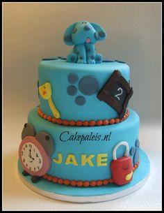 Blues Clues taart cake
