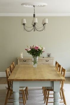 Cream+Dining+Room+-+Clunch++from+Farrow+&+Ball