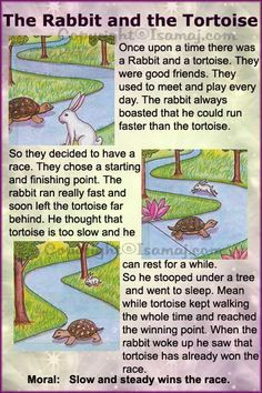 Moral Stories: The Rabbit and the Tortoise