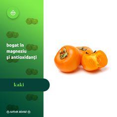 Cunoscut și sub numele de persimona sau piersica japoneză, fructul kaki este unul din deliciile exotice care sunt tot mai apreciate și în Europa, datorită gustului plăcut și a beneficiilor sale nutriționale. Este bogat în magneziu, așa că ajută la reglarea metabolismului, conține aproximativ aceeași cantitate de antioxidanți ca ceaiul verde și accelerează creșterea unghiilor și a părului. Fructul kaki se consumă de obicei ca atare, dar se poate prepara și la cuptor. Natur House, Metabolism, Stuffed Peppers, Vegetables, Food, Varicose Veins, Stuffed Pepper, Essen, Vegetable Recipes