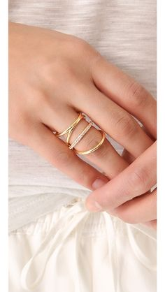 Elizabeth and James Berlin Elongated Ring