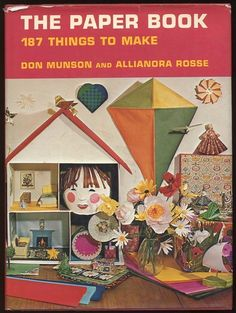 1970 Paper Craft Book 187 Projects Origami Collages Kites Mobiles Masks Lanterns | eBay